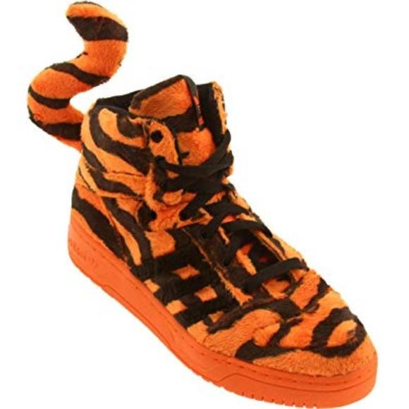 adidas Shoes Sjælden Jeremy Scott Tiger størrelse 95Poshmark Sjælden Jeremy Scott Tiger størrelse 95 Poshmark